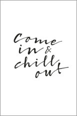 Poster Premium Chill out