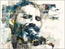 Stampa su tela  Freddie Mercury - The Show Must Go On - Paul Lovering Arts