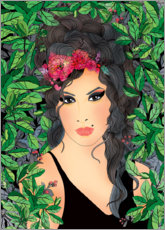 Poster  Amy Winehouse - Ella Tjader
