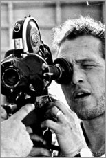 Adesivo murale  Paul Newman con cinepresa - Celebrity Collection