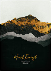 Poster  Monte Everest - Tobias Roetsch