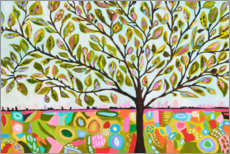 Adesivo murale  Happy tree of life - Karen Fields