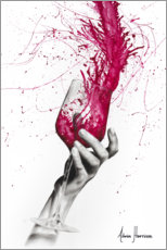 Poster Premium  Wine Night - Ashvin Harrison