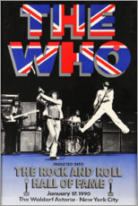 Poster Premium  The Who - Hall of Fame - Entertainment Collection