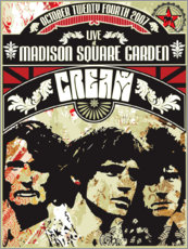 Poster Premium  Cream - Madison Square Garden - Entertainment Collection