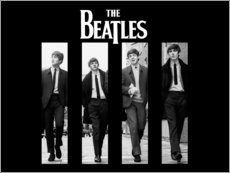 Poster Premium  The Beatles - Entertainment Collection