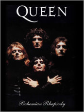 Stampa su legno  Queen - Bohemian Rhapsody - Entertainment Collection