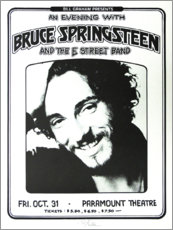 Poster Premium  Bruce Springsteen and the E Street Band - Entertainment Collection