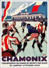 Poster Premium  Chamonix - Travel Collection