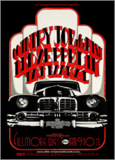 Poster Premium  Led Zeppelin & Country Joe And The Fish - Entertainment Collection
