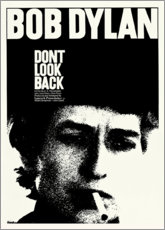 Poster Premium Bob Dylan - Don't Look Back