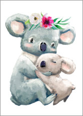 Adesivo murale  Mamma Koala - Kidz Collection