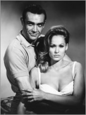 Poster Premium  Sean Connery e Ursula Andress