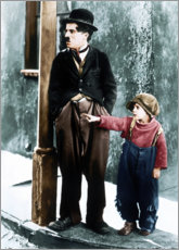 Poster  The Kid, Charles Chaplin, Jackie Coogan