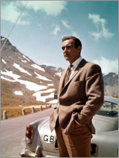 Poster Premium  Missione Goldfinger, Sean Connery