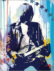 Poster Premium  Johnny Ramone, The Ramones II - 2ToastDesign
