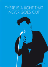 Poster Premium The Smiths - There Is A Light That Never Goes Out