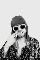 Poster Premium  Kurt Cobain - Celebrity Collection
