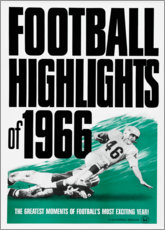 Poster Premium  Football Highlights 1966 - Advertising Collection