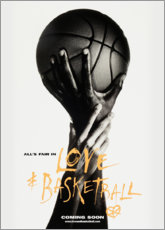 Stampa su tela  Love & Basketball - Advertising Collection