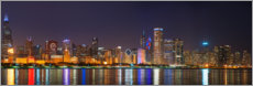Poster Premium  Skyline di Chicago
