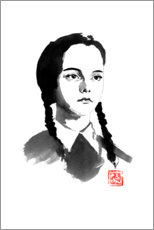 Poster Premium  Wednesday Addams - Péchane
