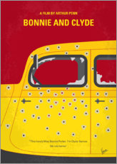 Poster Premium Bonnie and Clyde