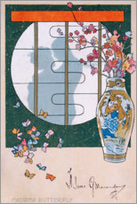 Poster Premium Madame Butterfly III