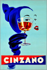 Poster Premium  Cinzano - Advertising Collection
