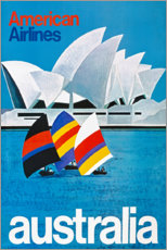 Stampa su vetro acrilico  Australia (English) - Travel Collection