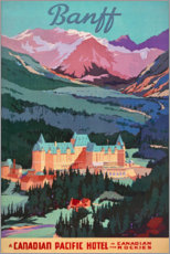 Poster Premium  Banff (in inglese) - Travel Collection
