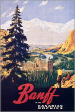 Poster Premium Banff (in inglese)
