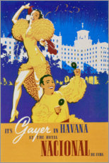 Stampa su tela  Hotel National of Cuba (spagnolo) - Travel Collection