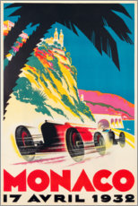 Poster Premium  Monaco 1932 (francese) - Travel Collection