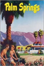 Poster Premium  Palm Springs - Travel Collection