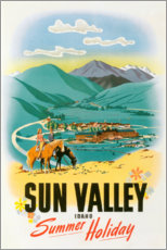 Poster Premium  Sun Valley - Travel Collection