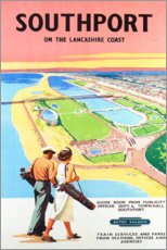 Poster Premium  Golf di Southport - Travel Collection