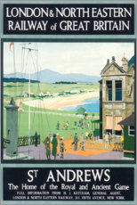 Poster Premium  St Andrews (inglese) - Henry George Gawthorn