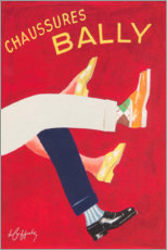 Poster Premium  Scarpe Bally (francese) - Advertising Collection
