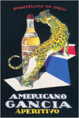 Poster Premium  Gancia Vermouth Bianco (italiano) - Advertising Collection