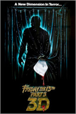 Poster Premium Friday the 13th (English)