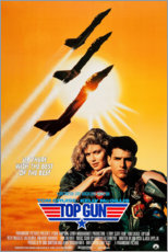 Stampa su alluminio  Top Gun - Entertainment Collection