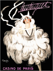 Poster Premium  Mistinguett Casino in Paris (francese) - Leonetto Cappiello