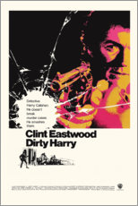 Poster Premium  Dirty Harry - Entertainment Collection