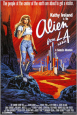 Poster Premium  Alien from L.A. - Entertainment Collection