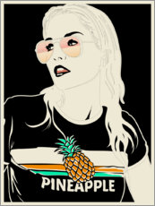 Poster Premium  Ananas - dolceQ