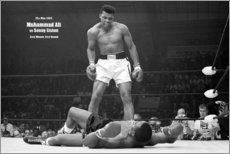 Poster Premium  Leggenda del pugilato Mohammed Ali - Celebrity Collection