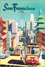 Poster Premium  San Francisco - Travel Collection