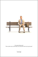 Poster Premium  Forrest Gump - Entertainment Collection