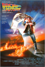 Poster Premium Back to the future